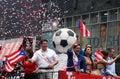 2018 Puerto Rican Day Parade Royalty Free Stock Photo