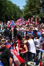 Puerto Rican Street Parade Stock Photography