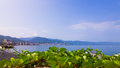 Puerto vallarta landscape shot of mexico Royalty Free Stock Images