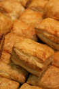 Puff pastries Stock Photos