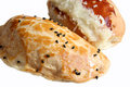 Puff pastries Royalty Free Stock Photos