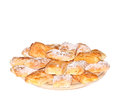 Puff Pastry with Cream Royalty Free Stock Photo