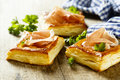 Puff pastry pies Royalty Free Stock Photo