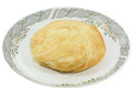 Puff pastry on the white background Stock Photo