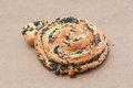 Puff pastry witn spices Royalty Free Stock Photo