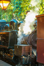 Puffing billy steam train in australia Stock Photography
