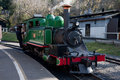 Puffing Billy steam train engine Royalty Free Stock Photo