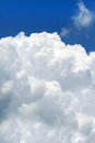 Puffy big cloud Royalty Free Stock Photo