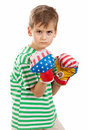 Pugilist Royalty Free Stock Photos