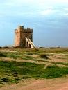 Puglian seaside torre coastal defences on the coast Stock Photos