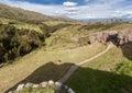 Puka Pucara Cusco Peru Royalty Free Stock Photo