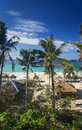 Puka tropical paradise beach in boracay philippines Royalty Free Stock Photo