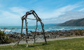 Pukerua Beach Royalty Free Stock Photo
