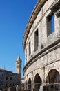 Pula, Croatia Stock Photography