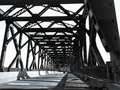 Pulaski Skyway Bridżowy New Jersey Fotografia Stock
