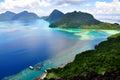 Pulau Bohey Dulang, Sabah Royalty Free Stock Photo