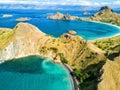 Pulau Padar Royalty Free Stock Photo