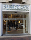 Pull bear valencia spain dec a retail clothing store in valencia spain on december started in and currently has retail Royalty Free Stock Photography