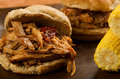 Pulled Pork Sandwich Royalty Free Stock Photography