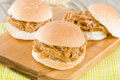 Pulled Pork Slider Royalty Free Stock Photo