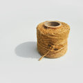 Pulley with yarn and fix it Royalty Free Stock Photos