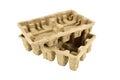 Pulp tray Royalty Free Stock Photo
