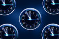 Puls clock Royalty Free Stock Photo