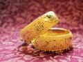Pulseira tradicionais chinesas do casamento Imagens de Stock Royalty Free