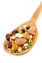 Pulses soup mixture Royalty Free Stock Photo