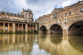 Pulteney Bridge Bath England Stock Image