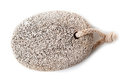 Pumice foot shaped scrub Stock Images