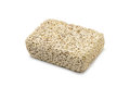 Pumice isolated volcanic stone on white background Stock Photography