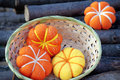 Pumkin handmade Royalty Free Stock Photo