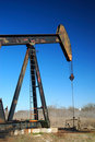 Pump jack Royalty Free Stock Photos