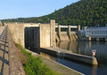 Pumped storage hydro plant Royalty Free Stock Photo