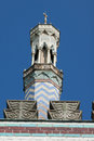 Pumping station top tower of the mosque disguised as a in potsdam Stock Images