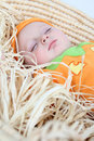 Pumpkin baby Royalty Free Stock Photos