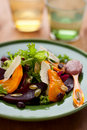 Pumpkin and beetroot salad Royalty Free Stock Photography