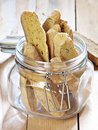 Pumpkin biscotti healthy autumn snack Royalty Free Stock Photos