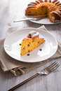 Pumpkin cake Royalty Free Stock Images