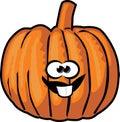 Pumpkin cartoon Stock Photography