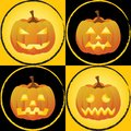 Pumpkin faces Royalty Free Stock Image