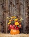 Pumpkin Flower Arrangement On ...