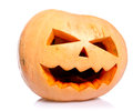 Pumpkin on Halloween Royalty Free Stock Photos