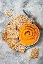 https---www.dreamstime.com-stock-photo-pumpkin-hummus-seasoned-olive-oil-black-sesame-seeds-whole-grain-crackers-healthy-vegetarian-appetizer-snack-image106328775