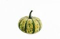 Pumpkin isolated a small on white background Stock Photography