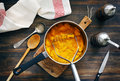 Pumpkin puree Royalty Free Stock Photo