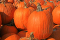 Pumpkin sale Royalty Free Stock Photography