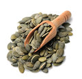Pumpkin seeds . Royalty Free Stock Photo