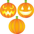 Pumpkin Set Royalty Free Stock Images